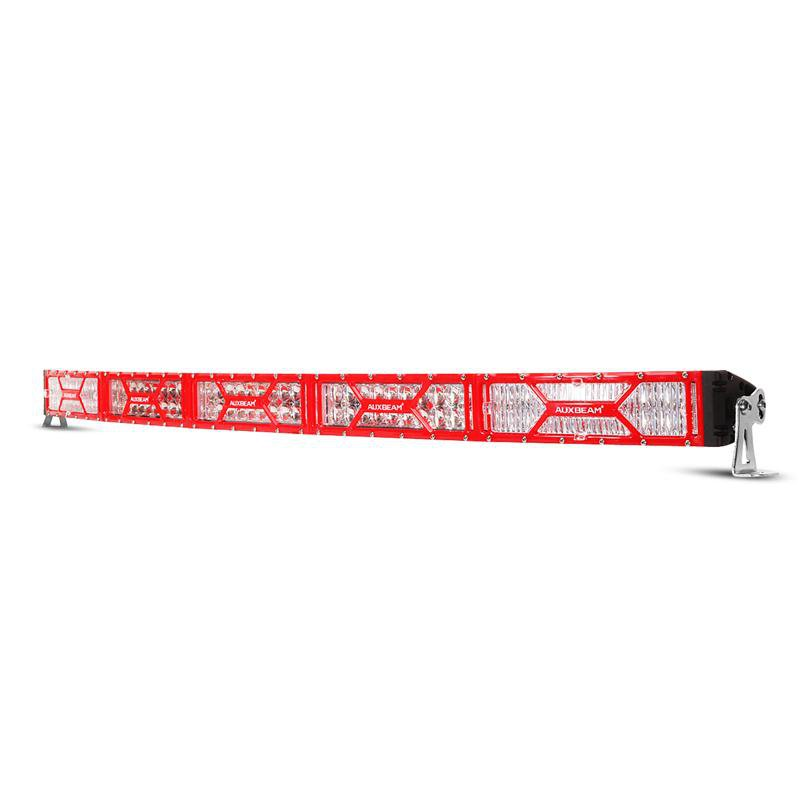 52 inch 300W X-Series CREE Red Frame Curved LED Light Bar with DRL Function