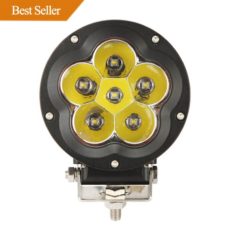 5 inch 60W CREE Round Spot & Flood Beam Off Road LED Driving Light