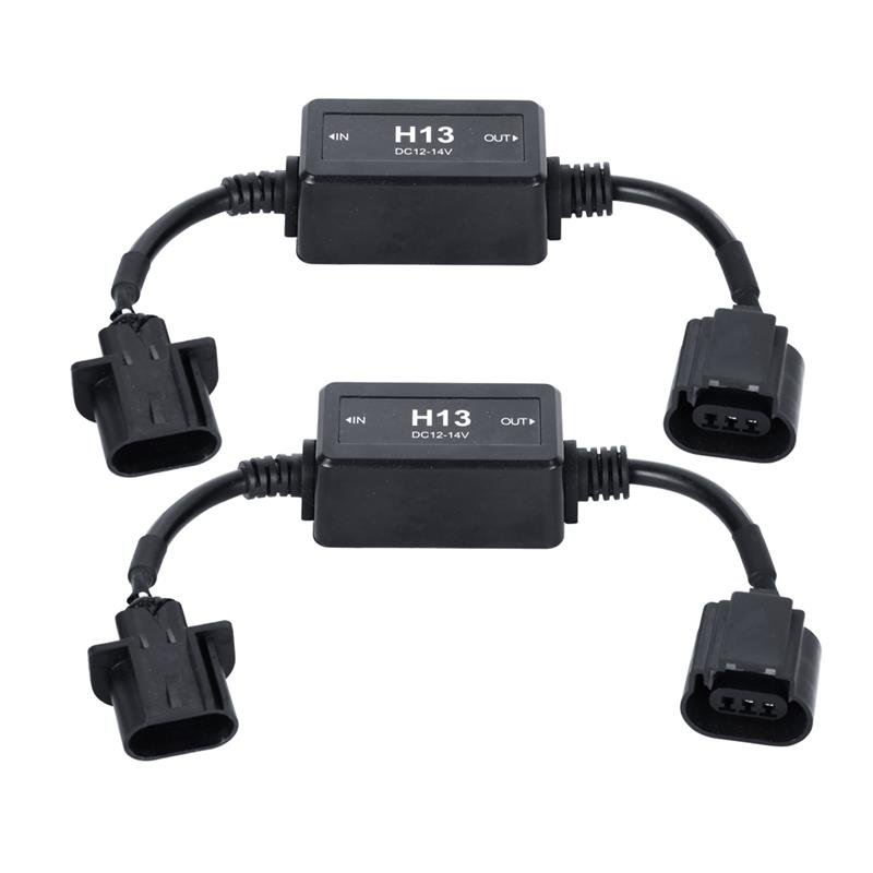 (2PCS/SET) LED CONVERSION HEADLIGHT ERROR FREE CANBUS DRIVER FOR H13/9008