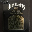 Jack Daniels Limited Edition Discontinued 1913 Gold Medal Bottle Gift Tag