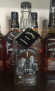 Jack Daniels Discontinued Scenes Of Lynchburg #2 Empty Bottle - Barrel Truck