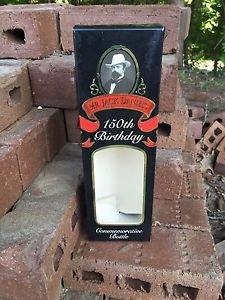 JACK Daniels 150th Birthday Used 750 Gift Carton
