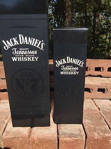 Jack Daniels Limited Edition Discontinued Black Denim 2 Box Set