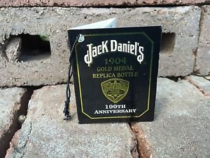 Jack Daniels Limited Edition Discontinued 1904 Centennial Gift Tag.