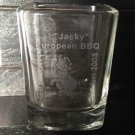 JACK DANIELS Discontinued 2008 Germany Championship Bbq Collectors Shot Glass