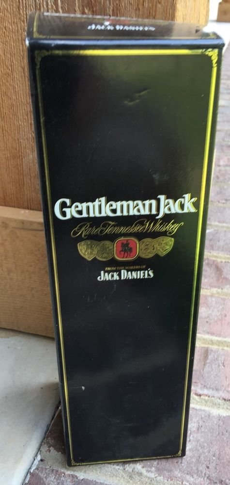 JACK Daniels Gentleman Jack 2nd Generation Tall 750 Gift Carton