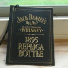 Jack Daniels Limited Edition Discontinued 1895 Replica Bottle Gift Tag