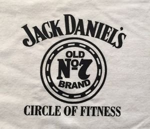 Jack Daniels Circle Of Fitness White Workout Towel - Employee Edition