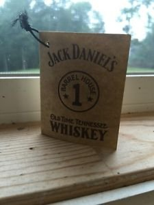 Jack Daniels Limited Edition Discontinued Barrelhouse 1 Gift Tag.