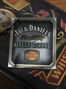 JACK DANIELS Discontinued  Vintage France Bacardi Single Barrel Gift Tag