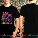 Coldplay Rock Band A Head Full Of Dream World Tour 2017 Black Concert T Shirt S,M,L,XL,2XL,3XL Tee