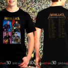 Metallica Rock Band World Weird Tour 2017 Black Concert T Shirt Size S,M,L,XL,2XL,3XL Tee