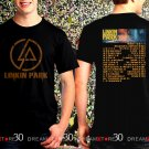 Linkin Park One More Light Tour Dates 2017 Black Concert T Shirt Size S to 3XL LP8