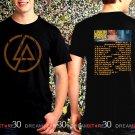 Linkin Park One More Light Tour Dates 2017 Black Concert T Shirt Size S to 3XL LP8