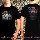 The Beach Boys Tour 2017 Black Concert T Shirt Size S to 3XL B4