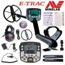 """NEW MINELAB E-TRAC Metal Detector With 11"""" DD COIL"""