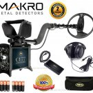 """Makro CF77 Coin Finder Standard Metal Detector with 9"""" DD Search Coil"""