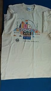 Vintage Native American Indian T-shirt/XL/Creme Color/Cotton/1996/Creation Story
