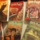 Harry Potter Lot 3 Hardback 4 Paperback Book 1, 2, 3, 4, 5, 6, 7 Goblet Azakaban