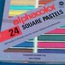 Vintage Alphacolor 24 Square Pastels/Weber Costello