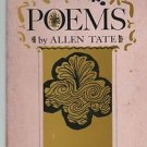 Poems by Allen Tate 1960