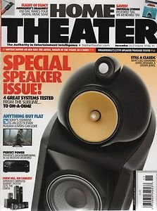 Home Theater/Special Speaker Issue/Nov 2012/Vol 19/No 11