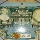 Souvenir Plaque Pope John Paul XXII Pope Paul VI Saint Peter Saluti da Pietro