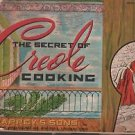 Vintage The Secret of Creole Cooking Trappey's Sons