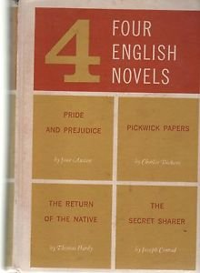 4 Four English Novels 1960 Pride and Prejudice Pickwick Papers Native Sharer