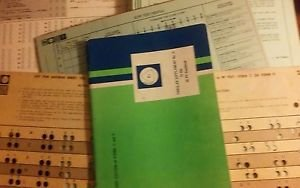 16 PF Handbook Test Booklets Answer Sheets Test Profiles Answer Sheet 1969 C & D