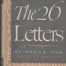 The 26 Letters Oscar Ogg