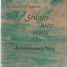Sound and Sense An Introduction to Poetry Laurence Perrine Third Edition 1969