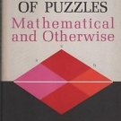 A Miscellany of Puzzles Mathematical and Otherwise Barr 1965