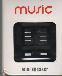 Portable Aluminum Bluetooth Mini Speaker in Black