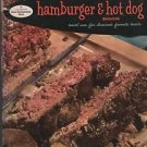 Good Housekeeping's Hamburger & Hot Dog Book Novel Users for America's Favorite
