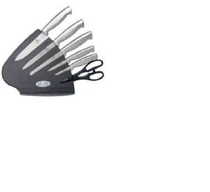 Chefs Basics Knife Set (7-Piece), Stainless