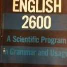 English 2600 A Scientific Program in Grammar and Usage Blumenthal