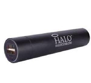 Halo Pocket Power 2200mAh Power Bank w/3 Adapter Tips (Black)
