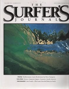 The Surfer's Journal/Rubberman: Larry Bertleman/Vol 10/no 5
