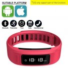 Pink Smartband Wristband Bluetooth IOS ANDROID