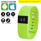 Green Smart Watch Fitness Activity Tracker Bluetooth IOS Android