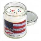 Patriotic Candle