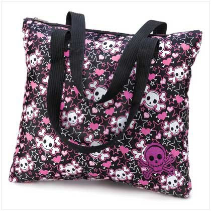 Scull And Crossbones Tote