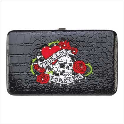 True Love Tattoo Hinge Wallet