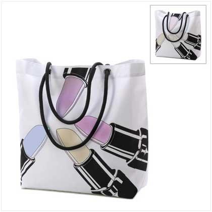 Lipstick Magic Tote Bag