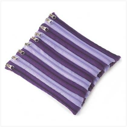 Purple Zipper Pouch