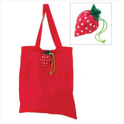Strawberry Stowaway Tote