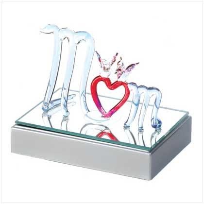 Color-Change Glass Mom Figurine