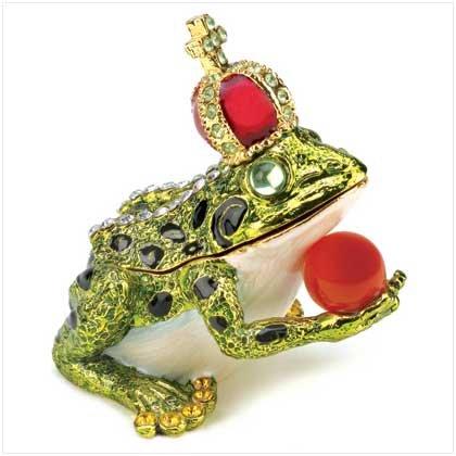 Frog Prince Trinket Box