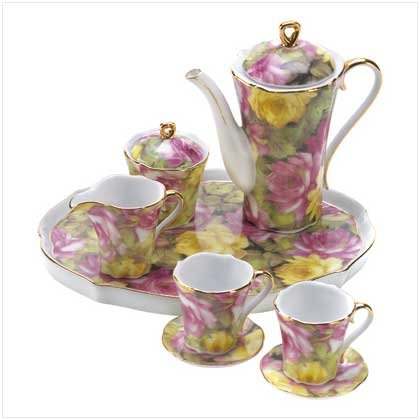 Rose Garden Mini Tea Set